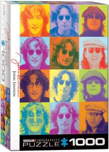 6000-0807-John Lennon - Color Portraits-Item# 6000-0807 -Puzzle size 19.25x26.5 in