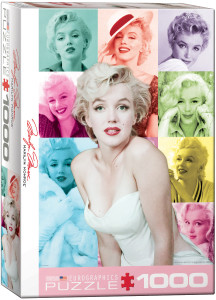 6000-0811-Marilyn Monroe - Color Portraits-Item# 6000-0811 -Puzzle size 19.25x26.5 in
