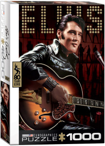 6000-0813-Elvis Comeback Special-Item# 6000-0813 -Puzzle size 19.25x26.5 in