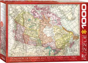 6000-5304-Dominion of Canada and Newfoundland - 1867-iteam#6000-5304-size 26.625x19.25