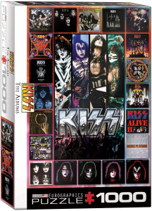 6000-5305-KISS - The Albums-Item# 6000-5305-Size 19.25x26.625 in