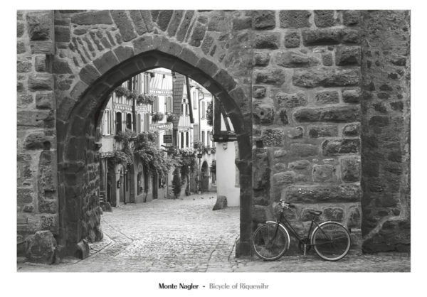 NMP317 Bicycle of Riquewihr