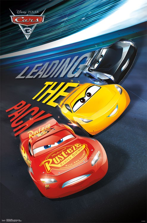 Cars 3-Group - Athena Posters