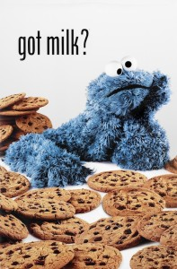 34151b Cookie Monster-Got Milk