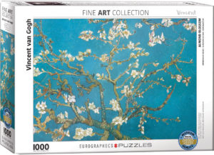 6000-0153-Almond Blossom- Item# 6000-0153 - Puzzle size 26.5x19.25 in