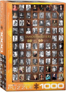 6000-0249-Famous Writers- Item# 6000-0249 - Puzzle size 19.25x26.5 in