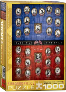 6000-0280-Civil War Generals- Item# 6000-0280 - Puzzle size 19.25x26.5 in