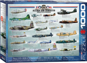 6000-0378-Allied Air Command World War II Bombers-Item# 6000-0378 - Puzzle size 19.25x26.5 in