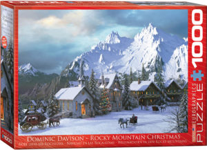 6000-0426-Rocky Mountain Christmas- Item# 6000-0426 - Puzzle size 26.5x19.25 in