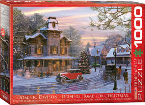 6000-0427-Driving Home for Christmas- Item# 6000-0427 - Puzzle size 26.5x19.25 in