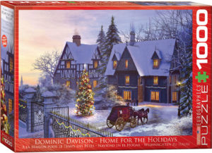 6000-0428-Home for the Holidays - Item# 6000-0428 - Puzzle size 26.5x19.25 in