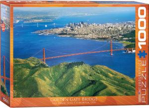 6000-0548-Golden Gate Bridge California- Item# 6000-0548 - Puzzle size 26.675x19.25 in