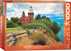 6000-0551-Big Bay Lighthouse Michigan- Item# 6000-0551 - Puzzle size 26.675x19.25 in