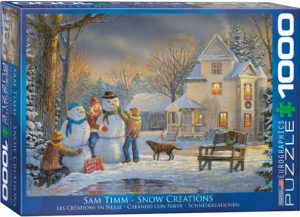 6000-0607-Snow Creations- Item# 6000-0607 - Puzzle size 26.675x19.25 in