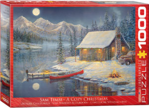 6000-0608-A Cozy Christmas- Item# 6000-0608 - Puzzle size 26.625x19.25 in
