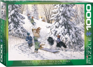 6000-0613-It's Your Turn- Item# 6000-0613 - Puzzle size 26.675x19.25 in