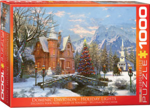 6000-0669-Holiday Lights- Item# 6000-0669 - Puzzle size 26.675x19.25 in