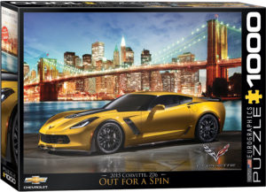 6000-0735-Corvette Z06 Out for a Spin- Item# 6000-0735 - Puzzle size 26.5x19.25 in
