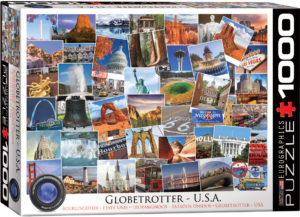 6000-0750-Globetrotter USA - Item# 6000-0750 - Puzzle size 26.5x19.25 in