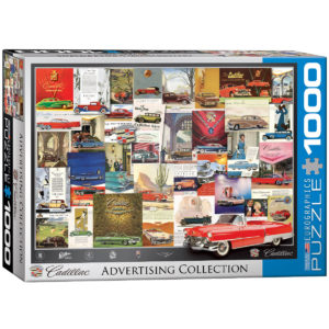 6000-0757-Cadillac Advertising Collection- Item# 6000-0757 - Puzzle size 26.5x19.25 in