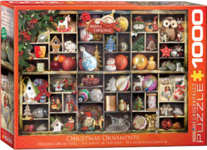 6000-0759-Christmas Ornaments-Item# 6000-0759 - Puzzle size 26.5x19.25 in