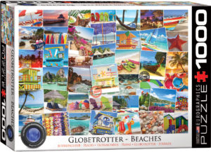 6000-0761-Globetrotter Beaches- Item# 6000-0761 - Puzzle size 26.5x19.25 in