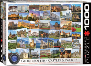 6000-0762-Castles and Palaces Globetrotter- Item# 6000-0762 - Puzzle size 26.5x19.25 in