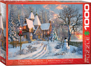 6000-0790-Christmas Cottage- Item# 6000-0790 - Puzzle size 26.5x19.25 in