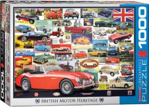 6000-0805-British Motor Heritage-Item# 6000-0805 - Puzzle size 19.25x26.5 in