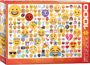 6000-0816-Emojipuzzle What's your Mood - Item# 6000-0816 - Puzzle size 19.25x26.5 in