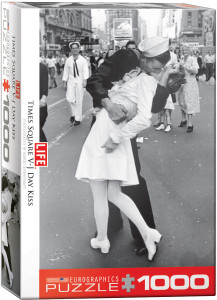 6000-0820-Times Square V-J Day Kiss-Item# 6000-0820 -Puzzle size 19.25x26.5 in