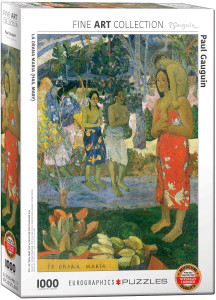 6000-0835-La Orana María (Hail Mary)-Item# 6000-0835 -Puzzle size 19.25x26.5 in