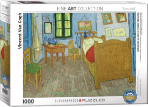 6000-0838-Bedroom in Arles- Item# 6000-0838 - Puzzle size 26.5x19.25 in