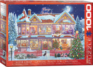 6000-0973-Getting Ready for Christmas-Item# 6000-0973-Puzzle Size 26.625x19.25 in