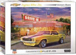 6000-0986-Daytona Yellow Zeta- Item# 6000-0986- Puzzle Size 26.625x19.25 in