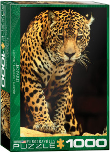 6000-1163-Leopard- Item# 6000-1163 - Puzzle size 19.25x26.5 in