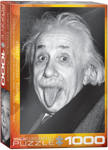6000-1324-Einstein Tongue- Item# 6000-1324 - Puzzle size 19.25x26.5 in