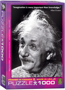 6000-1325-Einstein (Imagination)- Item# 6000-1325 - Puzzle size 19.25x26.5 in