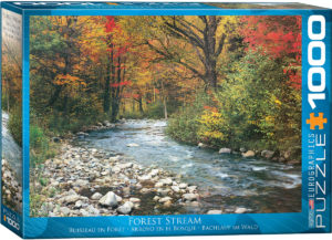 6000-2132-Forest Stream- Item# 6000-2132 - Puzzle size 26.5x19.25 in