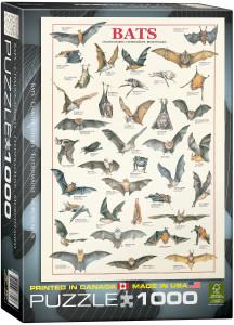 6000-3820-Bats- Item# 6000-3820 - Puzzle size 19.25x26.5 in