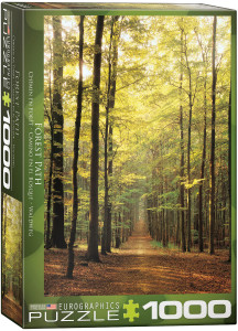 6000-3846-Forest Path- Item# 6000-3846 - Puzzle size 19.25x26.5 in