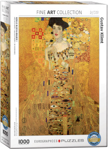 6000-9947-Adele Bloch-Bauer I- Item# 6000-9947 - Puzzle size 19.25x26.5 in