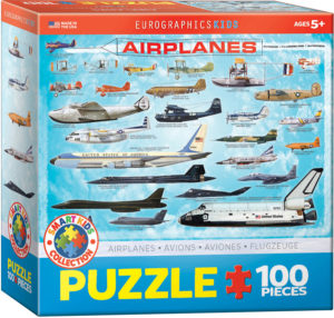 6100-0086-History of Aviation- Item# 6100-0086 - Puzzle size 19x13 in