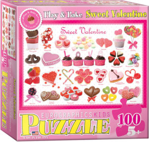 6100-0431-Sweet Valentine- Item# 6100-0431 - Puzzle size 19x13 in