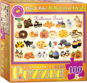 6100-0432-Halloween Treats- Item# 6100-0432 - Puzzle size 19x13 in