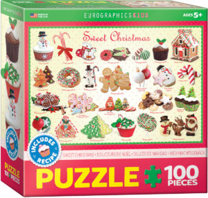 6100-0433-Sweet Christmas- Item# 6100-0433 - Puzzle size 19x13 in