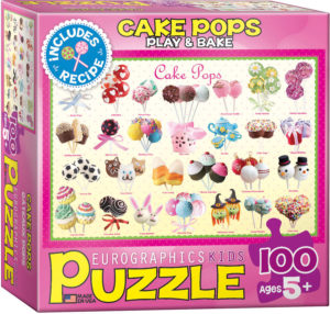 6100-0518-Cake Pops- Item# 6100-0518 - Puzzle size 19x13 in