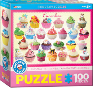6100-0519-Cupcakes- Item# 6100-0519 - Puzzle size 19x13 in