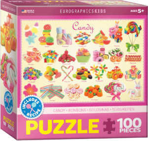 6100-0521-Candy- Item# 6100-0521 - Puzzle size 19x13 in