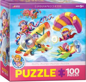 6100-0523-Pilots- Item# 6100-0523 - Puzzle size 19x13 in